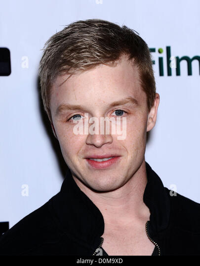 Nov. 26, 2012 - Beverly Hills, California, U.S. - Noel Fisher arrives for the premiere of the film 'Certainty' - Stock Image