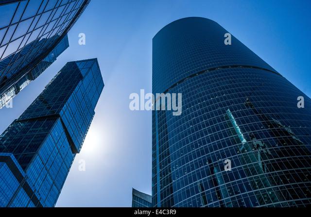 Moscow International Business Center (Russia) - Stock-Bilder