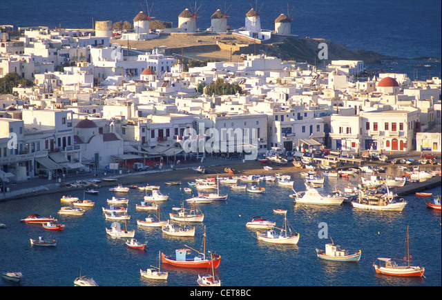 Mykonos, Cyclades Islands, Greece - Stock Image