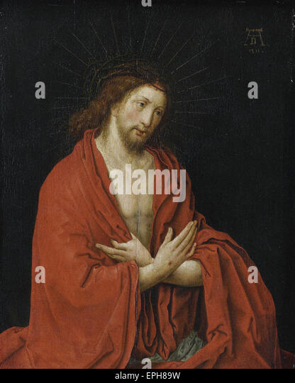 Lucas van Leyden  Christ with Crown of Thorns - Stock Image