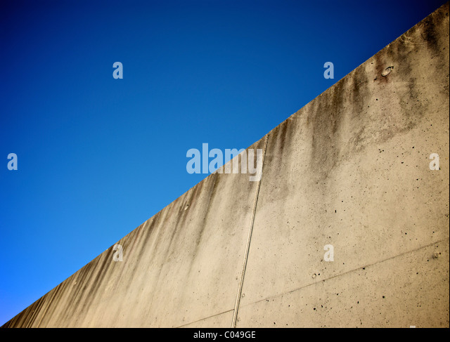 CONCRETE WALL ABSTRACT - Stock Image