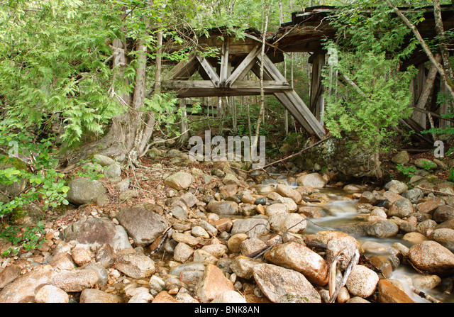 Wooden Timber Trestle Stock Photos Wooden Timber Trestle