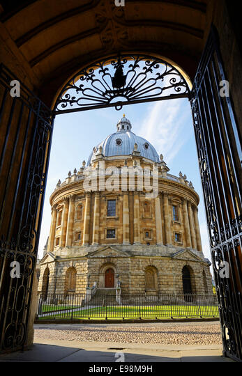Radcliffe Camera, Oxford, England, UK. - Stock-Bilder