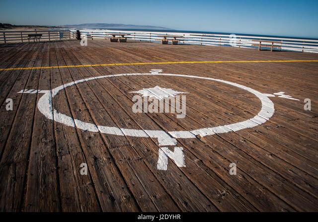 PierCompass5368   - Stock Image