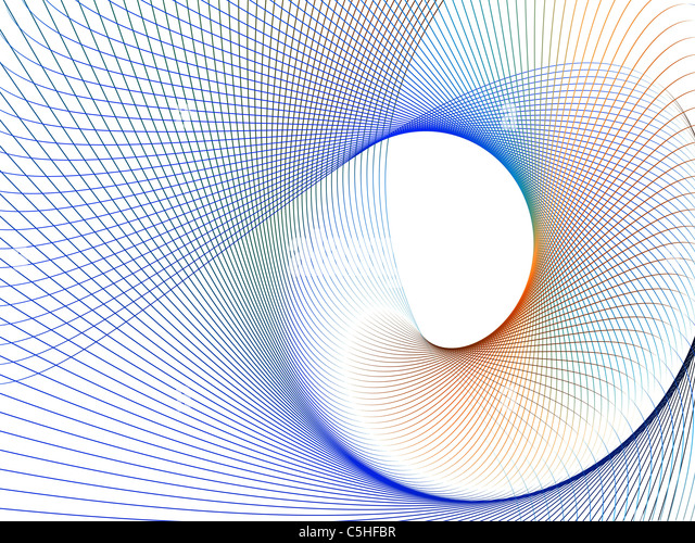 Abstract line pattern - Stock Image