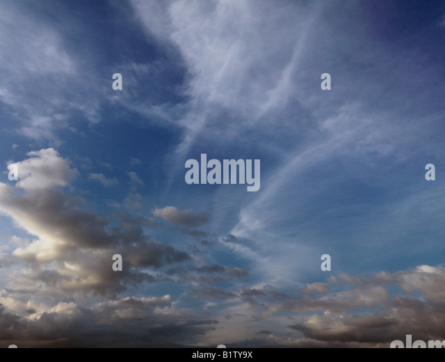 late afternoon clouds - photo #35