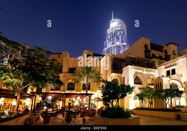 The Adress Five Star Hotel - Stock Image