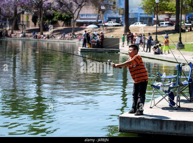 Fish derby stock photos fish derby stock images alamy for Fishing los angeles