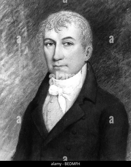 JAMES MONROE  fifth President of the USA (1758-1831) - Stock Image
