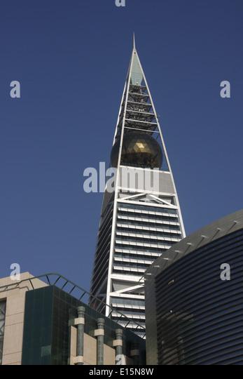Al Faisalia Tower, Riyadh, Kingdom of Saudi Arabia - Stock Image