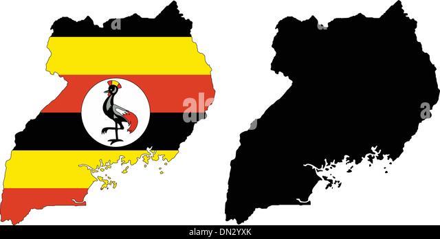 Uganda - Stock Image