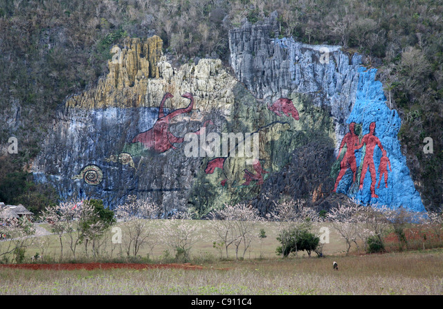 Morillo stock photos morillo stock images alamy for Mural de la prehistoria cuba