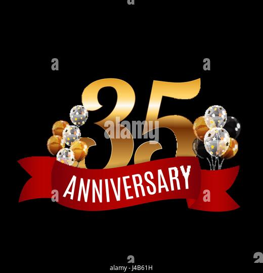 35 Years Stock Vector Images Alamy