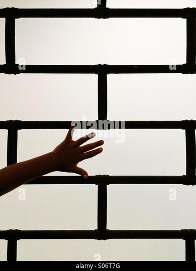 Caged - Stock Image