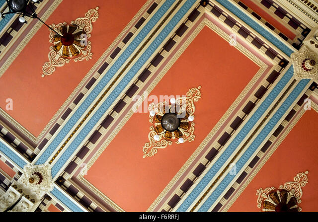 Georgian Architecture Interior Uk Stock Photos amp Georgian  : the louth town hall decorative ceiling east lindsey lincolnshire england f6rrfj from www.alamy.com size 640 x 447 jpeg 136kB
