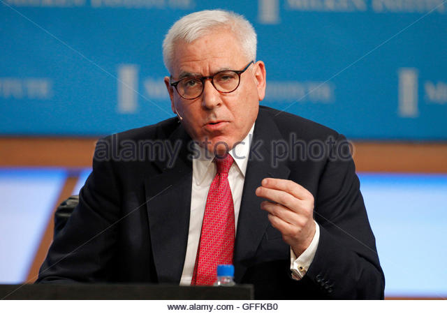 David Rubenstein, Co-Founder and Managing Director, The Carlyle Group speaks during the panel discussion 'Global - Stock Image