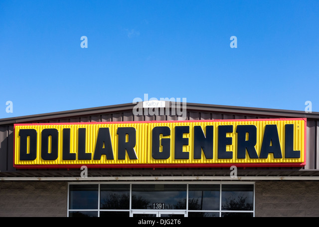 Dollar General store in Haines City, Central Florida, USA - Stock Image