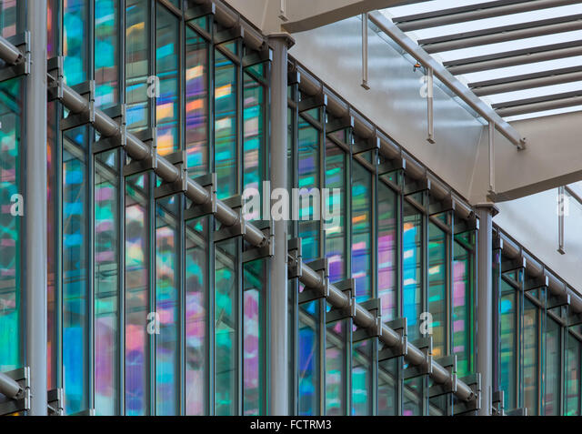 Francis Crick Institute at Midland Road, St Pancras, London designed by architects HOK with PLP Architecture. - Stock Image