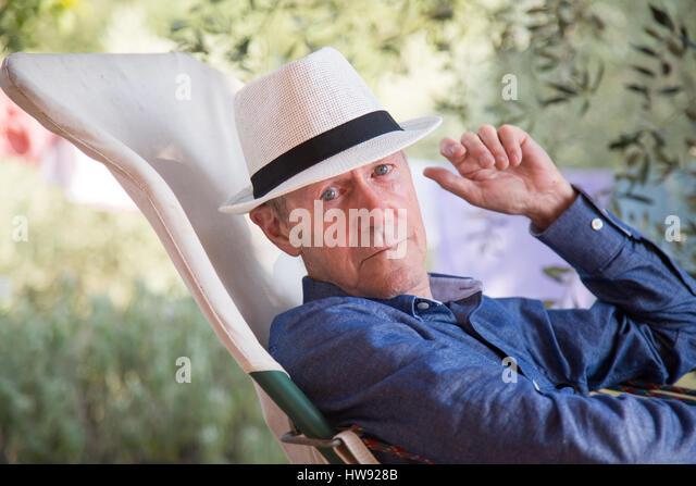 dapper patriarch - Stock Image