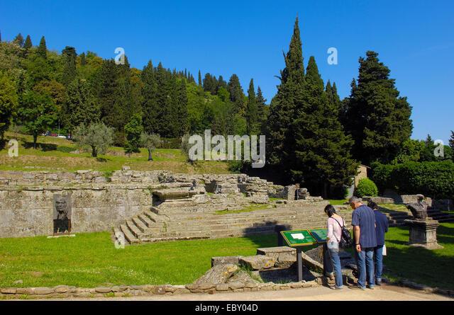 Italian Florence: Etruscan Temple Stock Photos & Etruscan Temple Stock