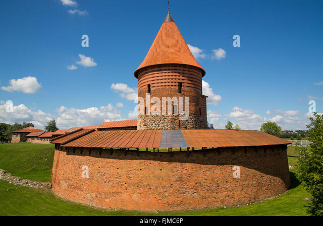 geography / travel, Lithuania, Kaunas, castle, Kauno pilis,Lietuva, Baltics, Baltic area, Baltic states, Baltic - Stock-Bilder