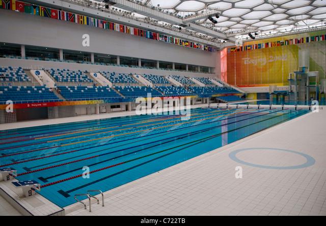 Olympic Swimming Pool Stadium Stock Photos Olympic Swimming Pool Stadium Stock Images Alamy