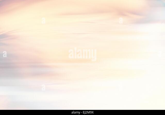 abstract warm yellow background motion blur - Stock Image