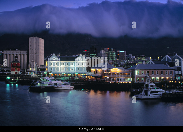 Victoria & Alfred Waterfront, Cape Town, South Africa - Stock Image