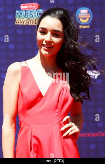 Indiana Massara at arrivals for Radio Disney Music Awards - ARRIVALS 2, Microsoft Theater, Los Angeles, CA April - Stock-Bilder