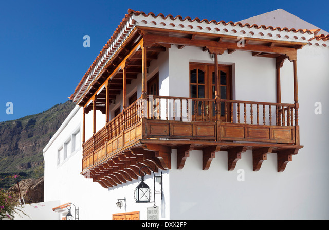 Balcony traditional spain stock photos balcony for Traditional balconies