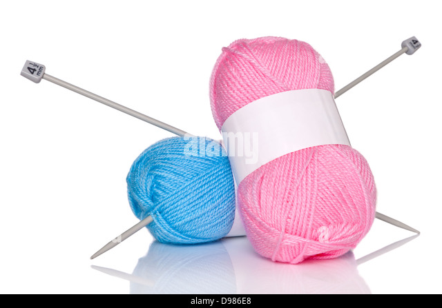 Knitting Needles And Wool : Balls of wool knitting needles stock photos