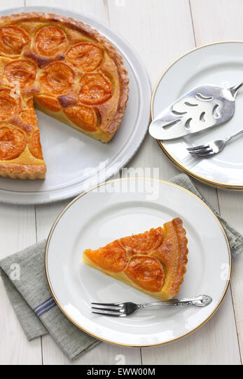 apricot tart stock photos apricot tart stock images alamy. Black Bedroom Furniture Sets. Home Design Ideas