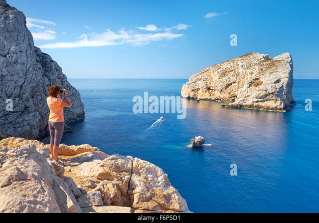 Porto Conte National Park, Alghero, Sardinia Island, Italy - Stock Image