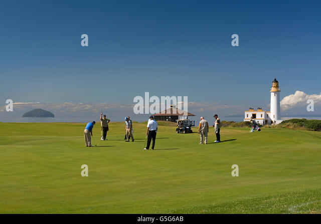 trump turnberry golf course south ayrshire - Stock Image