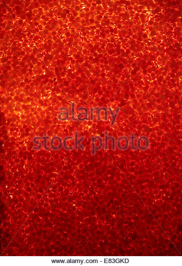 Textured Image of Organic, vegan, Red Lentils full of Iron and Protein - Stock Image