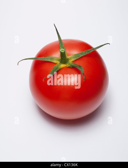 Red tomato - Stock Image