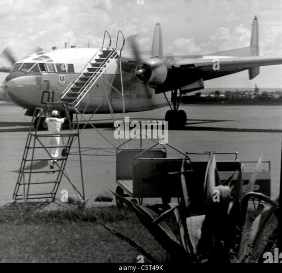 Brasilia's Airport, circa 1969 - Stock Image