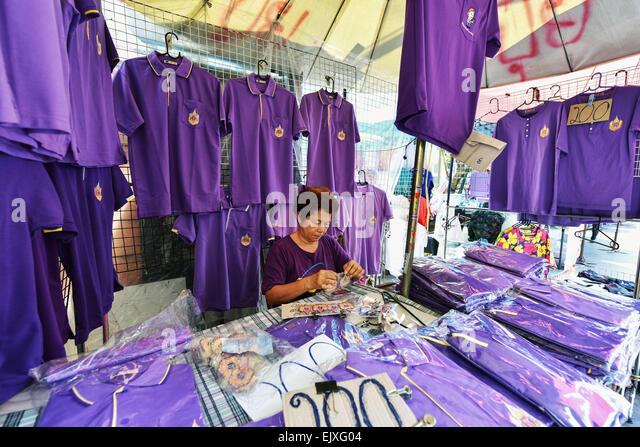 T Shirts In Bangkok Stock Photos & T Shirts In Bangkok ...