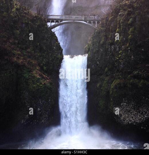 Multnomah falls - Stock Image