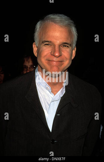 March 29, 1996 - Hollywood, California, U.S. - K4392FB.STEVE MARTIN.''Sgt. Bilko'' Premiere. 03/29/1996(Credit - Stock Image