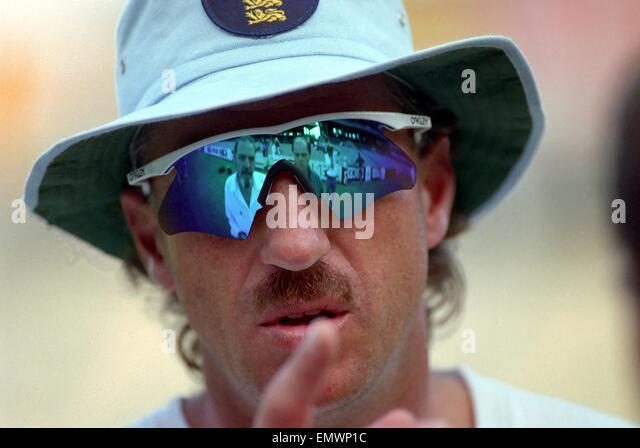 Cricket World Cup 1992 - Australia: Ian Botham. March 1992 DM-1894-394 - Stock Image