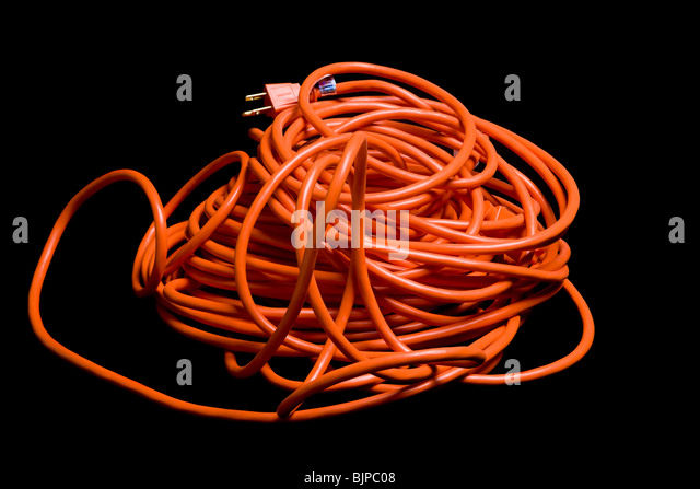 Extension Cord - Stock Image