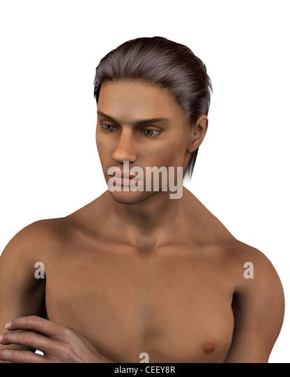 Male Portrait - 2 - Stock Image