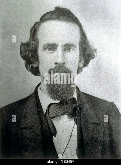 Henry George, American political economist, journalist, and philosopher. - Stock Image