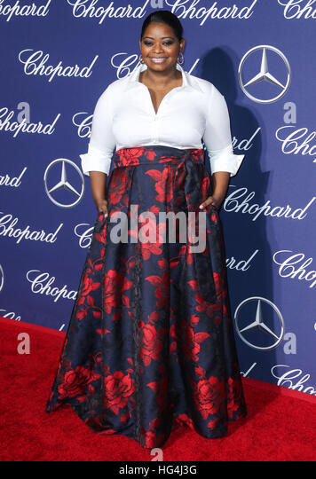 January 3rd, 2017 - Palm Springs  Octavia Spencer attends the 28th Annual Palm Springs International Film Festival - Stock-Bilder
