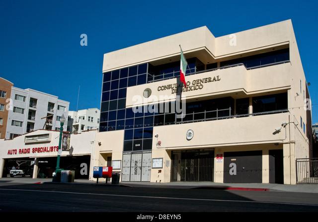 Cadillac Parts San Diego >> Embassy Mexico Stock Photos & Embassy Mexico Stock Images - Alamy