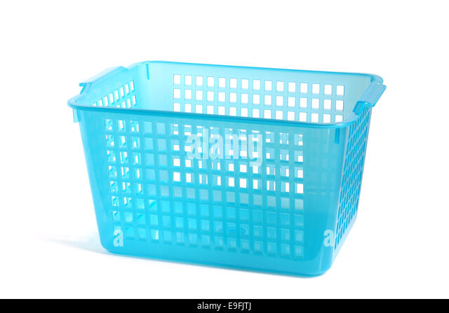 White Laundry Basket Asda: Supermarket Delivery Door Stock Photos & Supermarket