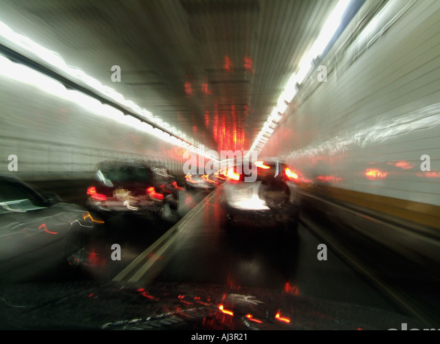 Lincoln Tunnel Traffic Stock Photos Amp Lincoln Tunnel
