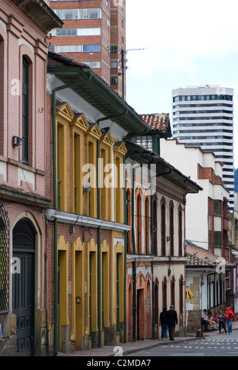 Candelaria (old section of the city), Bogota, Colombia - Stock Image