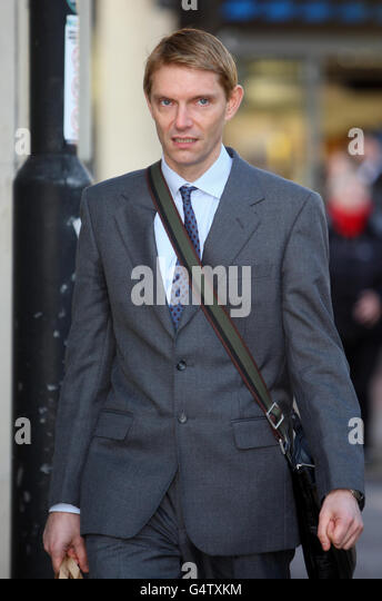 Honourable James Murray court case - Stock Image